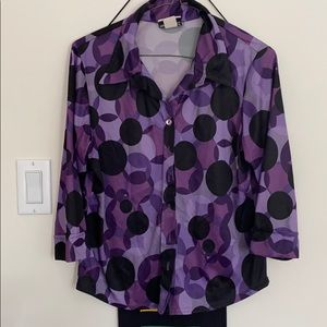 Fashion Bug buttoned up blouse
